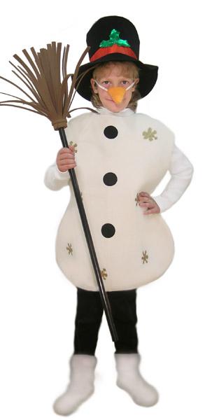 Костюм снеговика для мальчика своими руками из синтепона