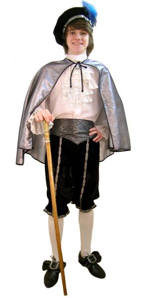 Принц. Детские карнавальные костюмы от 10 лет. Прокат и аренда карнавальных костюмов.