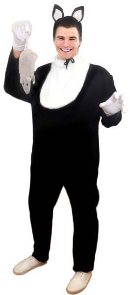 Kот черный бархатный. Звери. Прокат и аренда карнавальных костюмов. 0f5926122f5d2