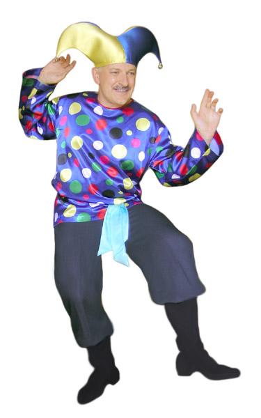 Скоморох клоун шут ярмарка